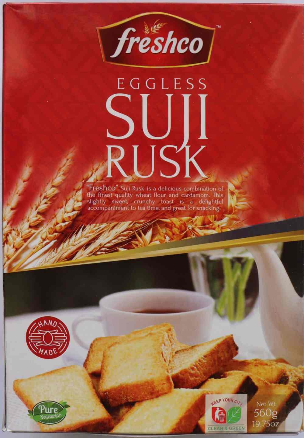 Freshco Suji Rusk 560g
