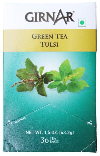 Girnar Green Tea Tulsi 43g (36 bags)