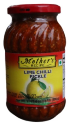 Mother`s Lime Chilli Pickle 500g