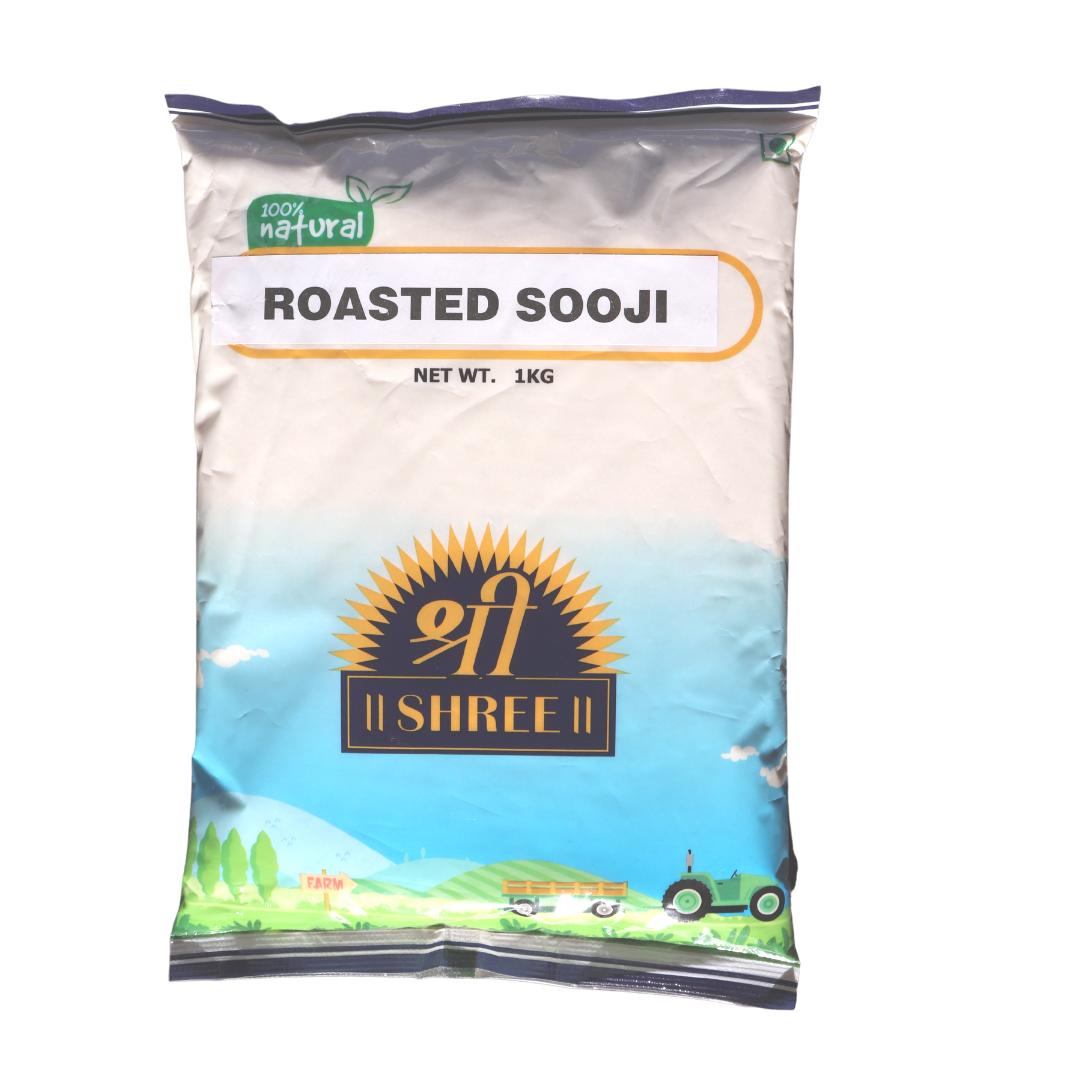 Shree Roasted Sooji (Coarse) 1kg