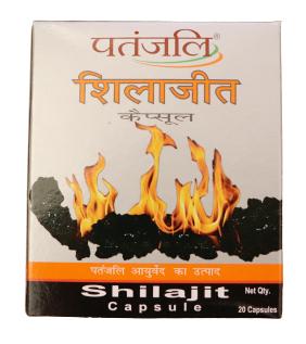 Patanjali Shilajit Capsule 20 pc